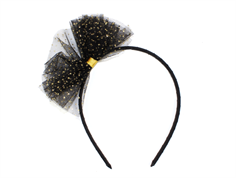 Petit by Sofie Schnoor headband with bow black