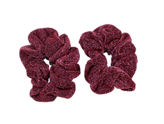 Petit by Sofie Schnoor hair elastics earth red glitter (2-Pack)