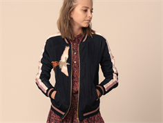 Petit by Sofie Schnoor jacket/cardigan black bird