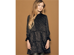 Petit by Sofie Schnoor dress black gold dot