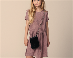 Petit by Sofie Schnoor dress faded rouge dots