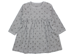 Petit by Sofie Schnoor dress gray bow print