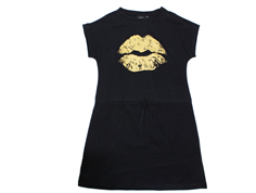Petit by Sofie Schnoor dress black gold kiss