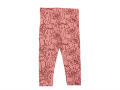 Petit by Sofie Schnoor leggings dusty rose flower