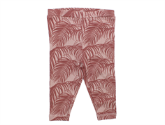 Petit by Sofie Schnoor leggings purple leaf