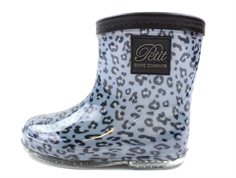 Petit by Sofie Schnoor rubber boot blue leopard