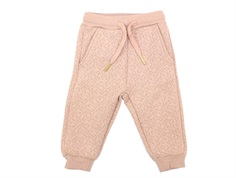 Petit by Sofie Schnoor sweat pants light rose glitter