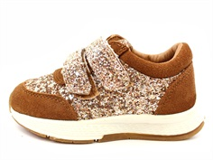 Petit by Sofie Schnoor sneaker tan with glitter
