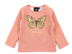 Petit by Sofie Schnoor sweat shirt Mimi dusty rose butterfly