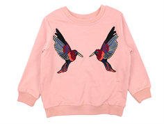 Petit by Sofie Schnoor sweatshirt ash rose birds
