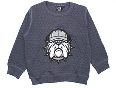 Petit by Sofie Schnoor sweatshirt dark blue bulldog