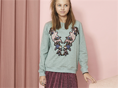 Petit by Sofie Schnoor sweatshirt gray melange fish