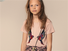 Petit by Sofie Schnoor t-shirt cameo rose birds
