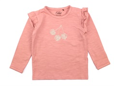 Petit by Sofie Schnoor t-shirt rose with cherry