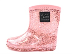 Petit by Sofie Schnoor winter rubber boot rose glitter