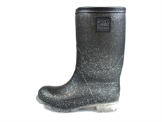 Petit by Sofie Schnoor summer rubber boot black glitter