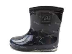 Petit by Sofie Schnoor winter rubber boot dark blue / green NYC