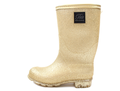 Petit by Sofie Schnoor winter rubber boot champagne glitter