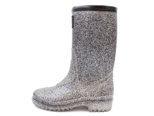 c3f4ccc3aa1 Buy Petit by Sofie Schnoor rubber boot black multi glitter at MilkyWalk