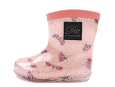 Petit by Sofie Schnoor rubber boot butterfly glitter