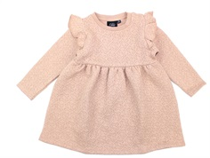Petit by Sofie Schnoor sweater dress light rose glitter