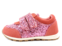 Petit by Sofie Schnoor sneaker coral with glitter