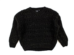 Petit by Sofie Schnoor knit black glitter