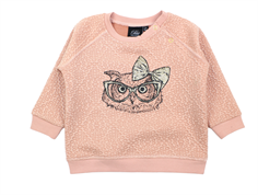 Petit by Sofie Schnoor sweatshirt dusty rose owl