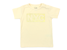 Petit by Sofie Schnoor t-shirt NYC light yellow