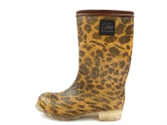 Petit by Sofie Schnoor winter rubber boot leopard glitter