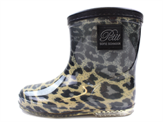 Petit by Sofie Schnoor winter rubber boot leopard