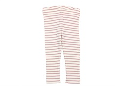Petit Piao leggings modal rose stripes