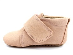 Pom Pom slippers old rose sueded