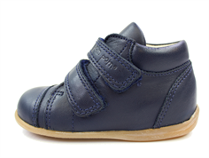 Pom Pom toddler shoe navy with velcro