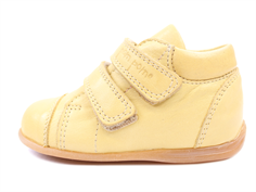 Pom Pom toddler shoe yellow with velcro