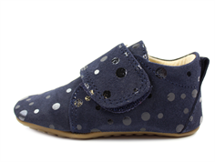 Pom Pom slippers navy/navy dot