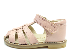 Pom Pom sandal rose with velcro