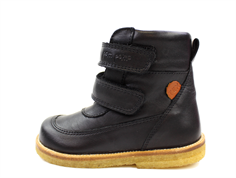 Pom Pom winter boot black with TEX