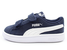 Puma Smash sneaker peacoat white