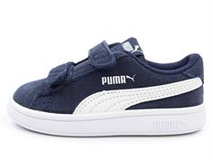 023908a5d4ff Puma Smash sneaker peacoat white