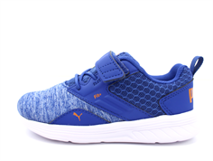 Puma sneaker Comet galaxy blue/white/orange