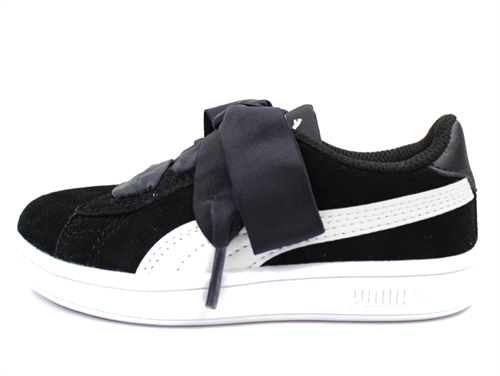 Puma Smash Ribbon sneaker puma blackblack white