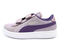 4d9c7213d2a8 Puma Smash sneaker glitz glam elderberry