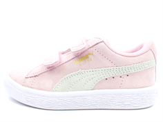 Puma Suede sneaker pink lady team gold