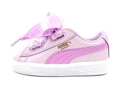 e735a3f34f75 Puma sneaker Basket heart stars orchid gold