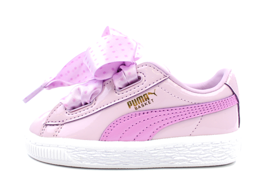 info for 5e5db fe315 Puma sneaker Basket heart stars orchid gold