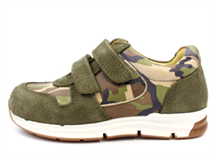 Arauto RAP sneaker army green with velcro