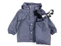 En Fant rainwear pants and jacket flint stone