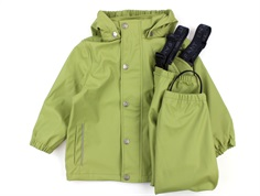 En Fant rainwear pants and jacket sage