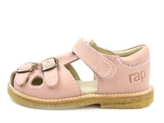 Arauto RAP sandal light rose with buckles and velcro